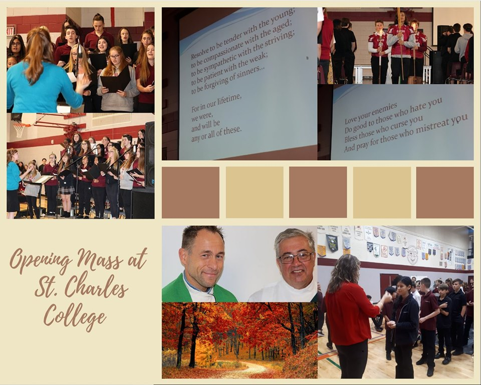 A collage of SCC Mass.